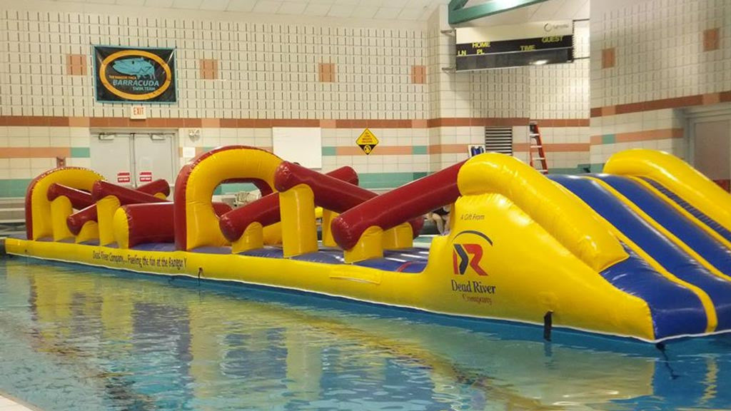 Croc Full of Fun - Commercial Pool Obstacle Courses - Pool Toys - Aflex Technology