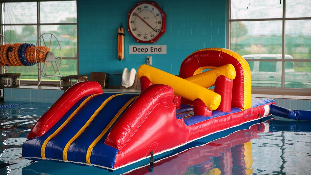 Croc Fun - Commercial Pool Obstacle Courses - Pool Toys - Aflex Technology