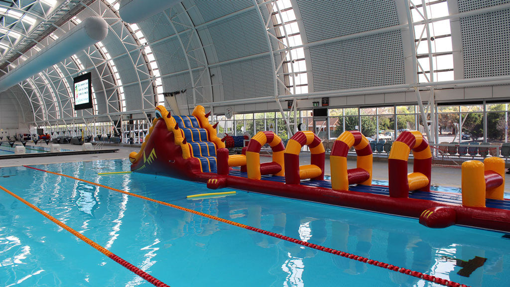 Crocodile - Commercial Pool Obstacle Courses - Aflex Technology