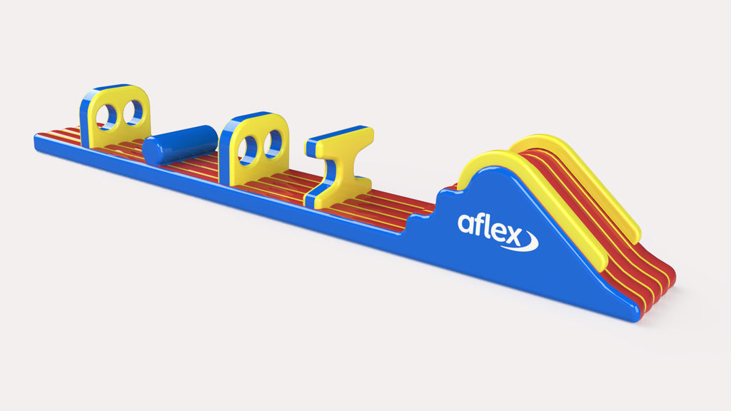 Dual Track - Constant Airflow Obstacle Courses - Aflex Technology