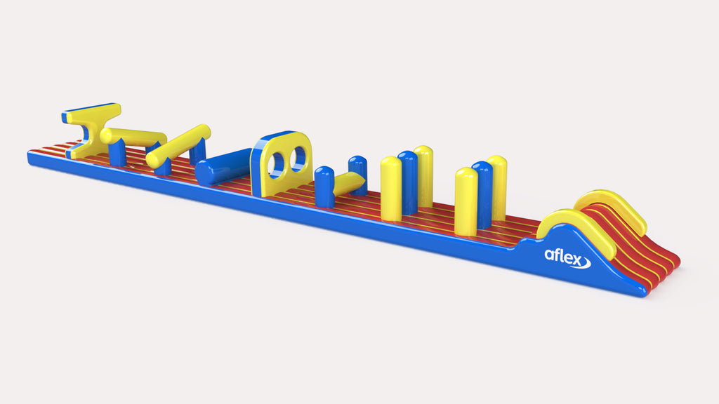 Exmouth Dual Racer - Constant Airflow Obstacle Courses - Aflex Technology