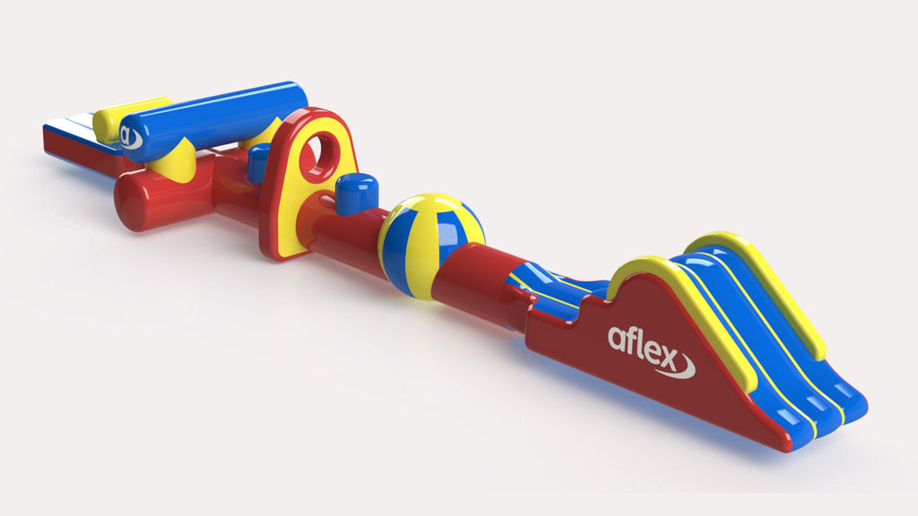 Hurdles Fun Run 15 - Constant Airflow Obstacle Courses - Aflex Technology