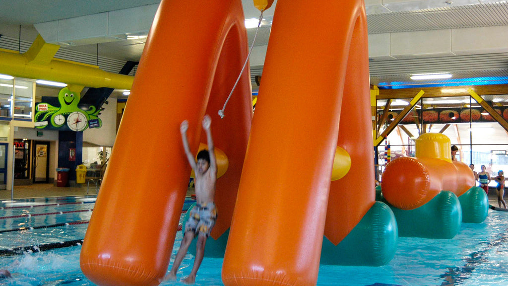 Huia Swing & Splash - Constant Airflow Obstacle Courses - Aflex Technology