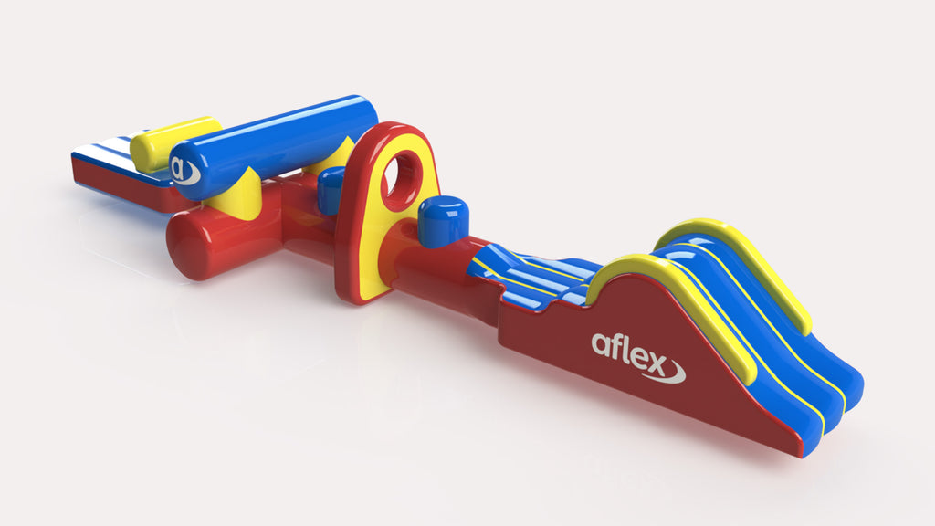 Hurdles Fun Run 12 - Constant Airflow Obstacle Courses - Aflex Technology