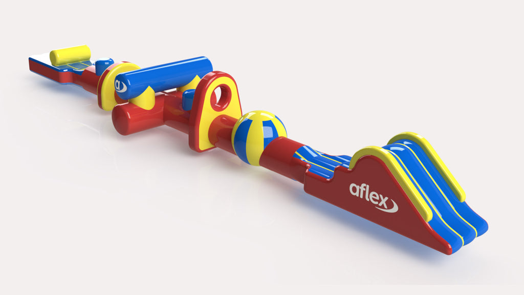 Hurdles Fun Run 18 - Constant Airflow Obstacle Courses - Aflex Technology