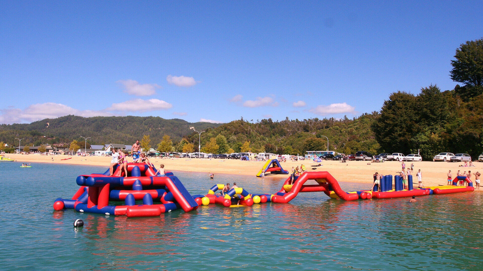 Kaiteri Challenge - Open Water Aqua Adventure - Aflex Technology