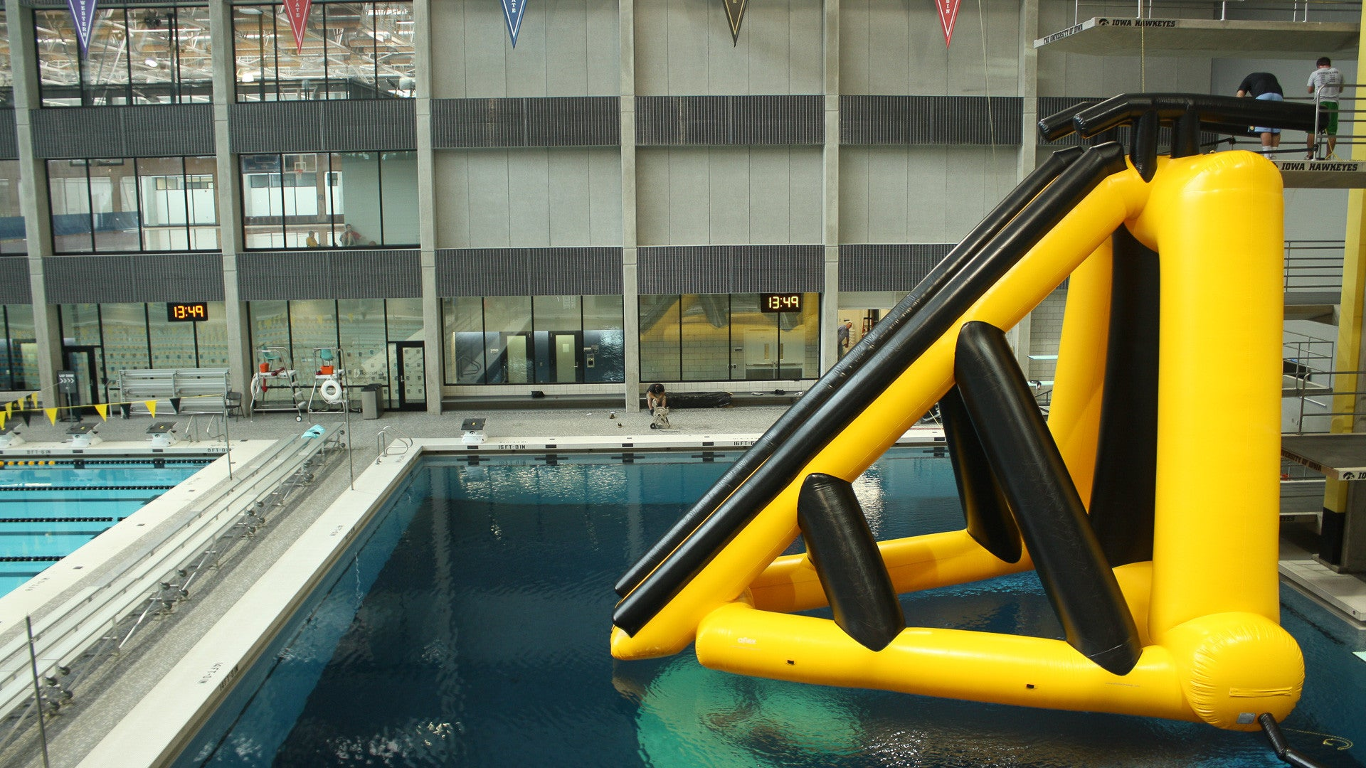 Mach II 7.5m Dive Board Slide