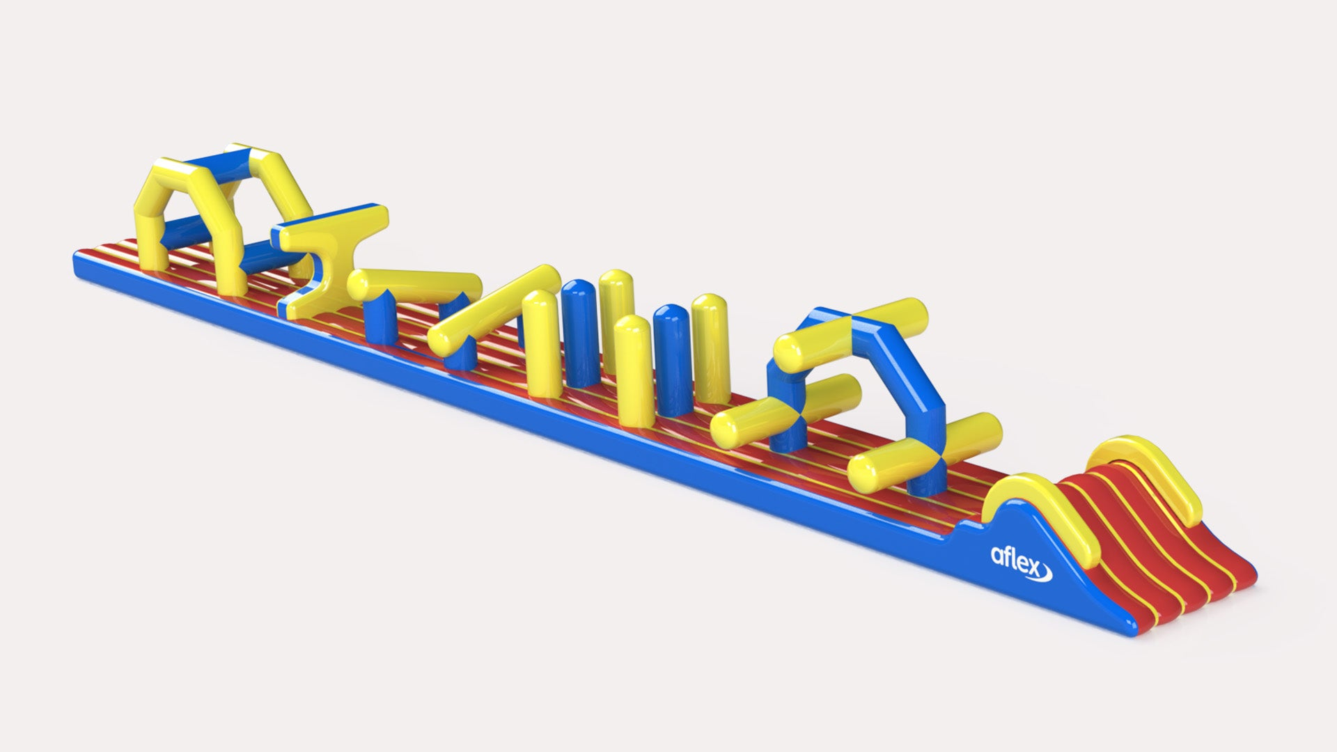 QE2 - Constant Airflow Obstacle Courses - Aflex Technology