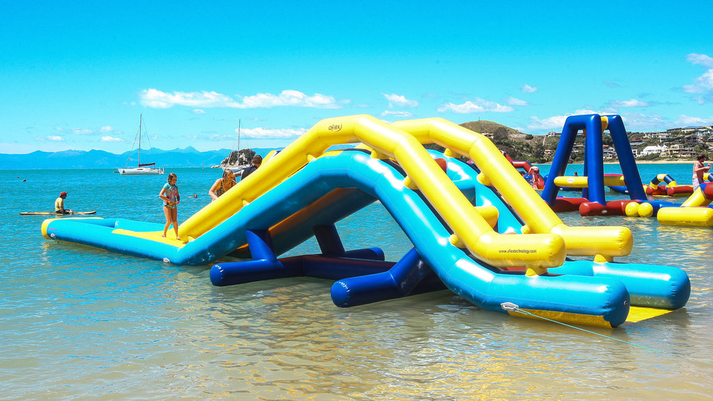Splash Over - Waterpark Module - Open Water Aqua Adventure - Aflex Technology