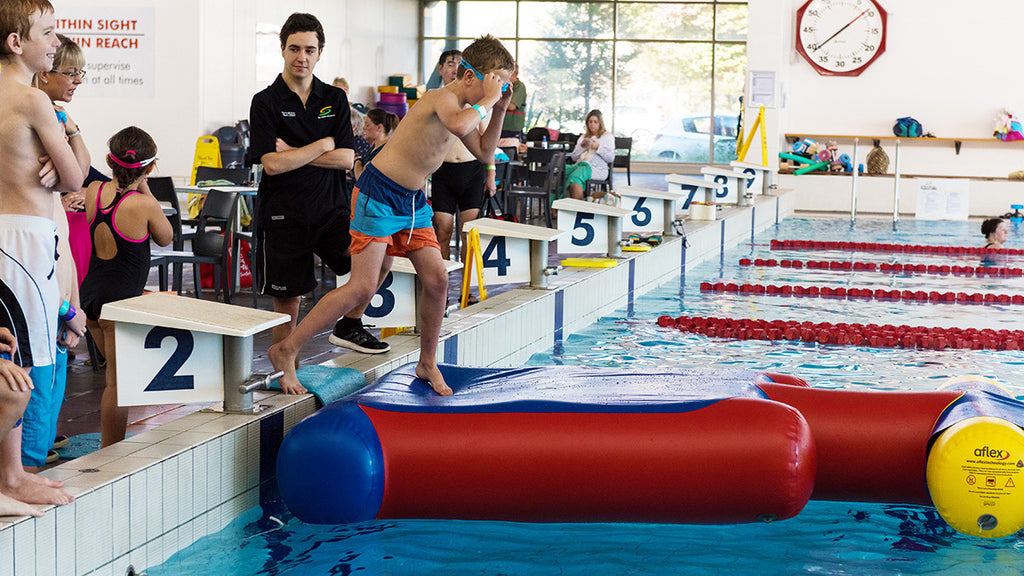 Start Block - Pools Aqua Fun - Aflex Technology