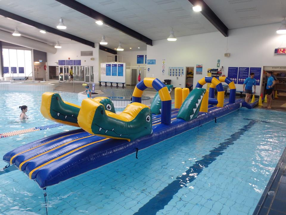 Surf Croc - Constant Airflow Obstacle Courses - Aflex Technology