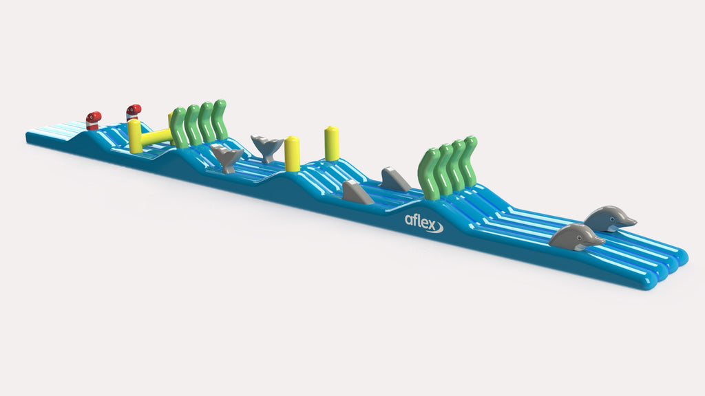 Surf Dolphin - Constant Airflow Obstacle Courses - Aflex Technology