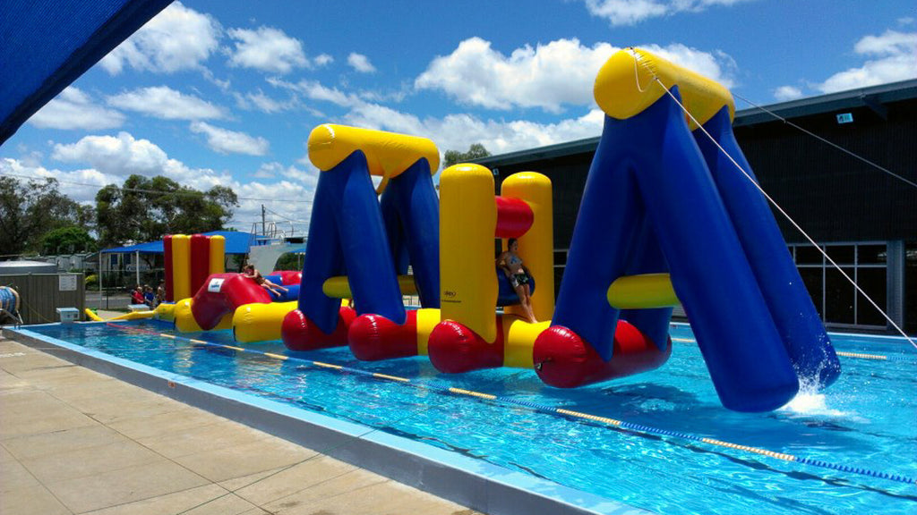 Swing & Splash - Constant Airflow Obstacle Courses - Aflex Technology