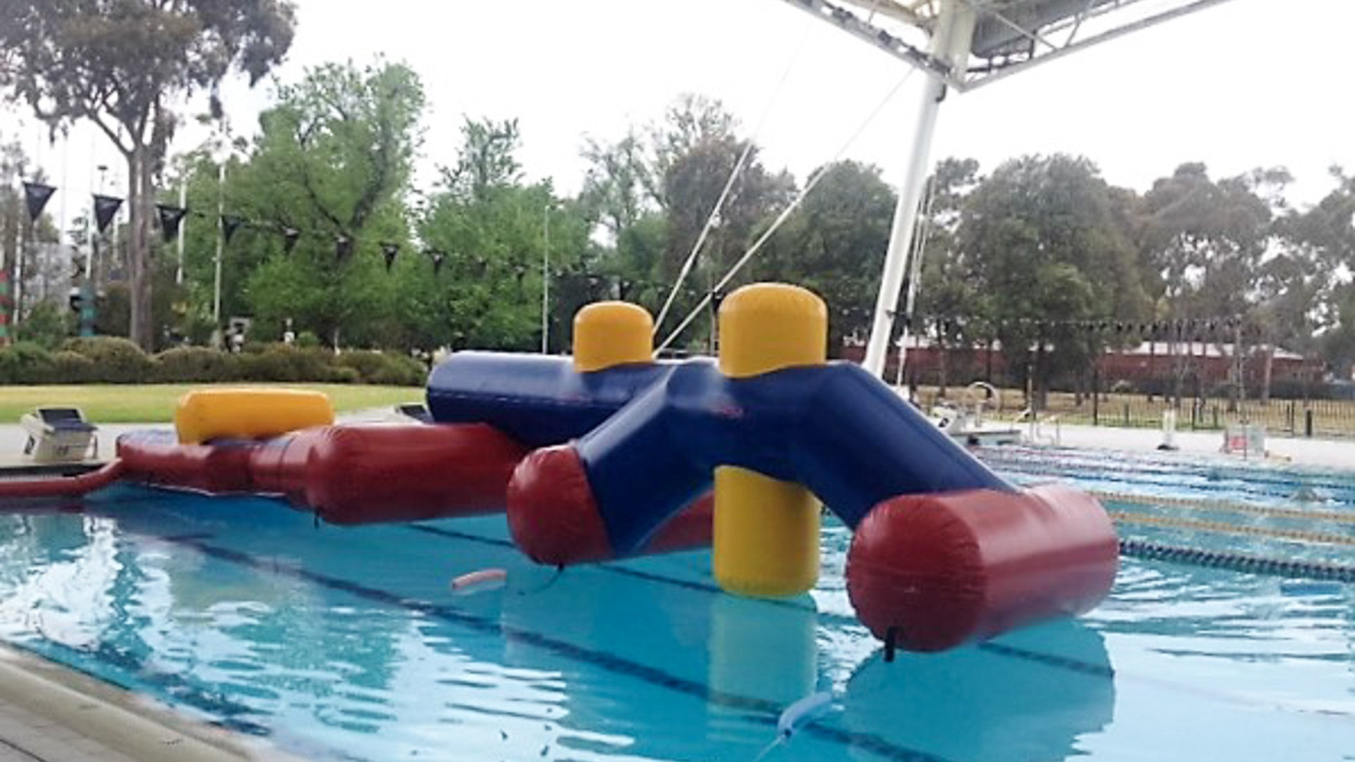 Waterdragons PT - Constant Airflow Obstacle Courses - Aflex Technology