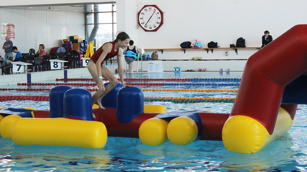 X Marks the Spot - Pools Aqua Fun - Aflex Technology