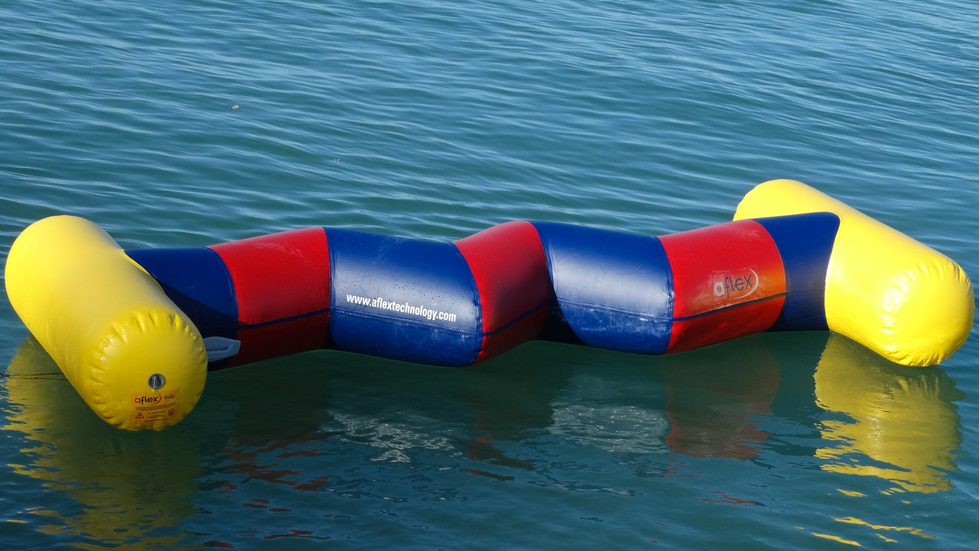 Open Water Inflatable Aqua Park Zig Zag - Aflex Technology - Aqua Adventure Series