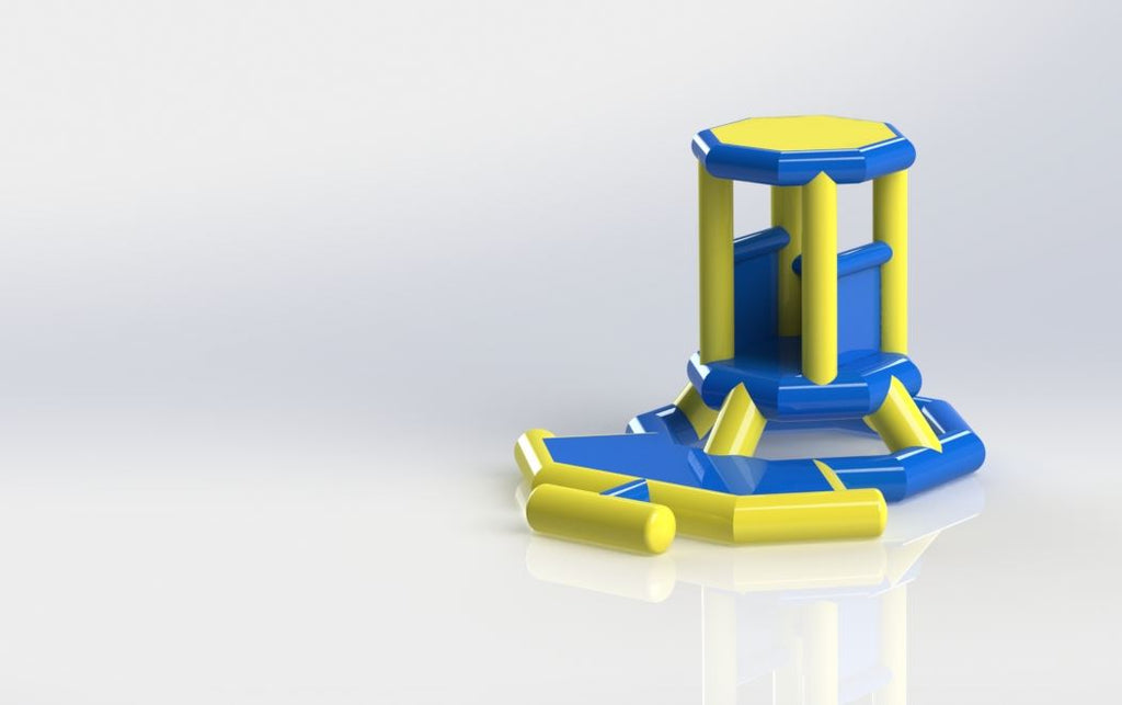 Lifeguard Tower - Open Water Aqua Adventure - Aflex Technology