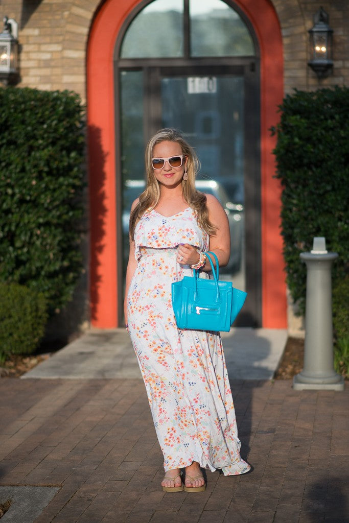 Gilded Glamour Floral Maxi (1 of 5)