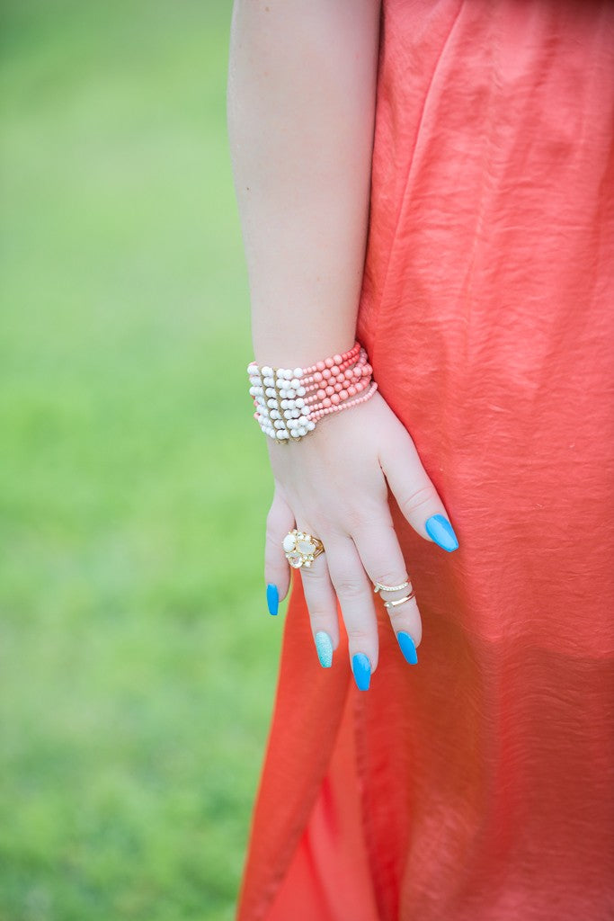 Gilded Glamour Tory Burch and Coral-3