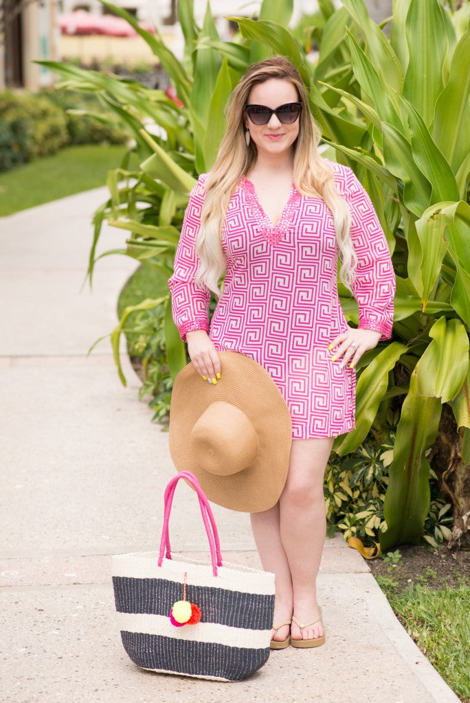 Gilded Glamour-Old Navy Beach Wear with a Little Added Pizzazz (1 of 7)