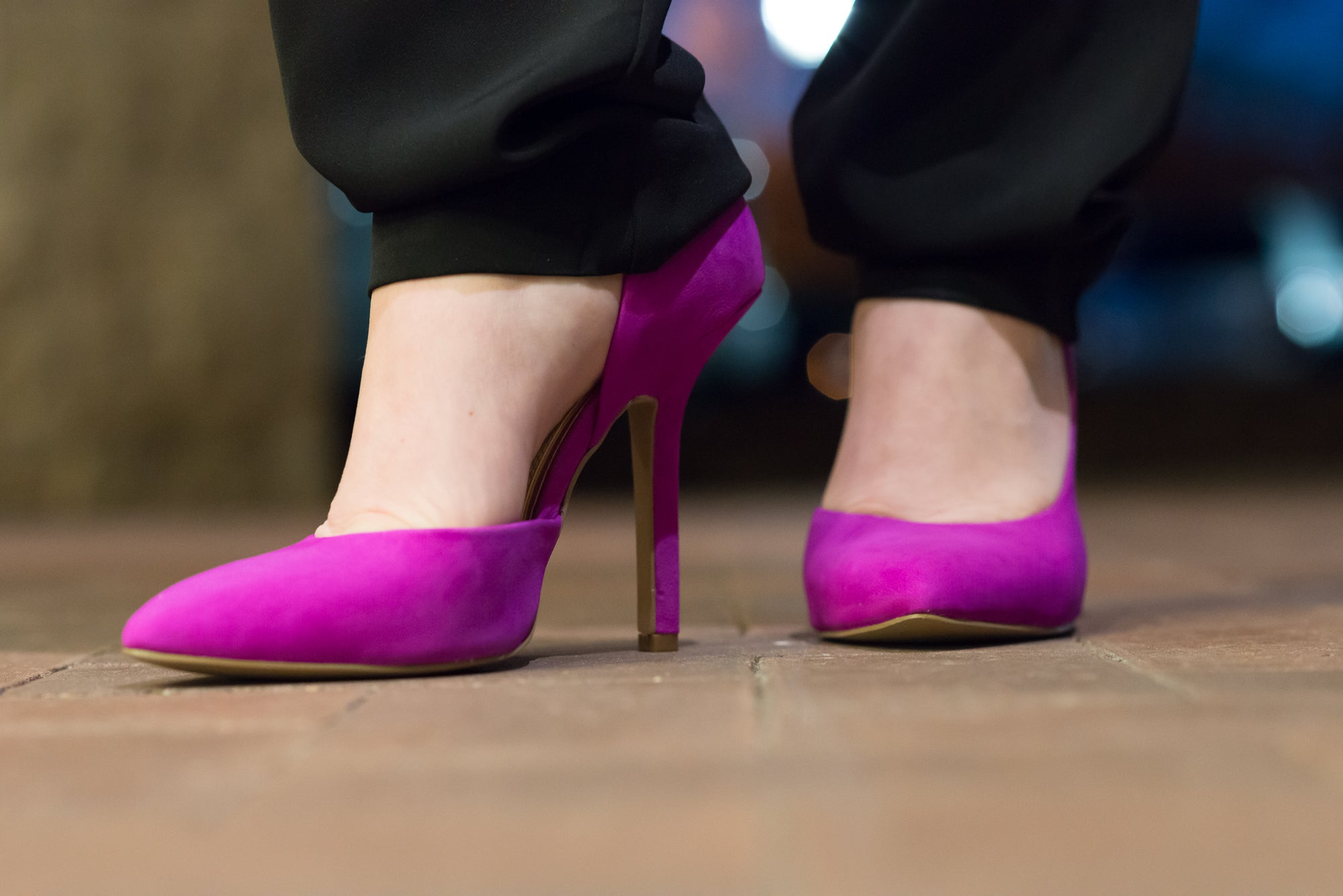 H&M and Pink Pumps (4 of 8)