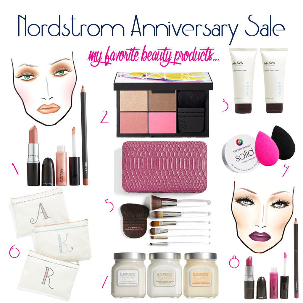 Nordstrom Anniversary Sale, Gilded Glamour Beauty Products faves