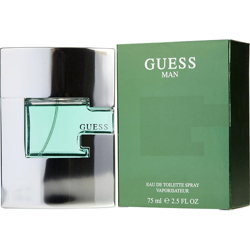 Guess For Men. Eau De Toilette Spray 2.5 Oz.