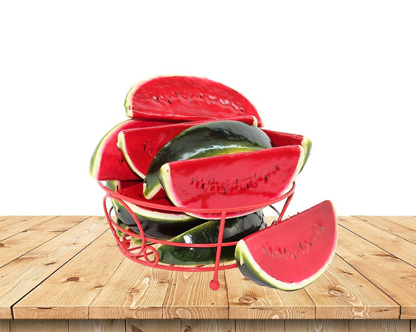 Artificial Simulation Watermelon Fruit Table Ornament