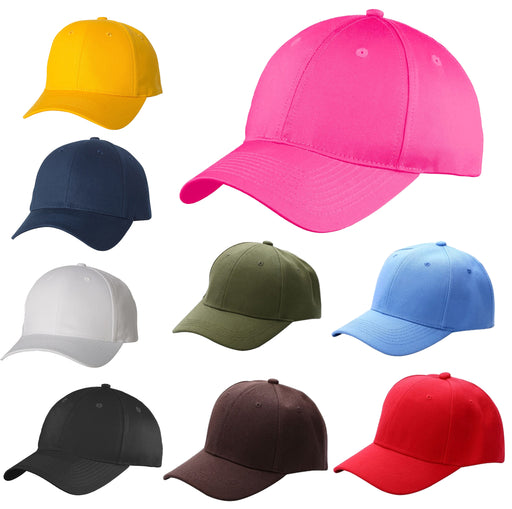 New Plain Baseball Cap Solid Color