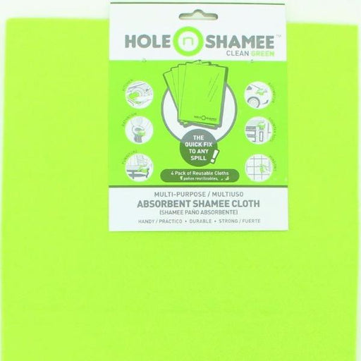 Hole-n-Shamee Absorbent Shamee Cloth, 4 pcs
