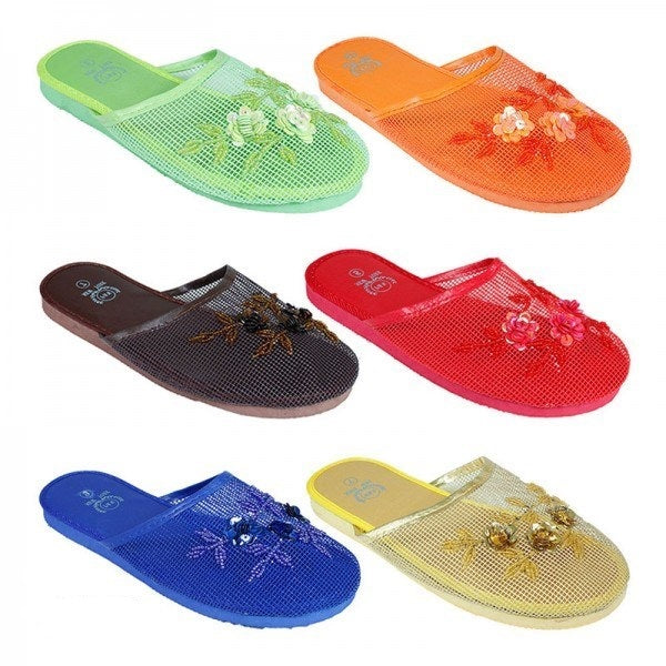 Women's Chinese Mesh Slippers