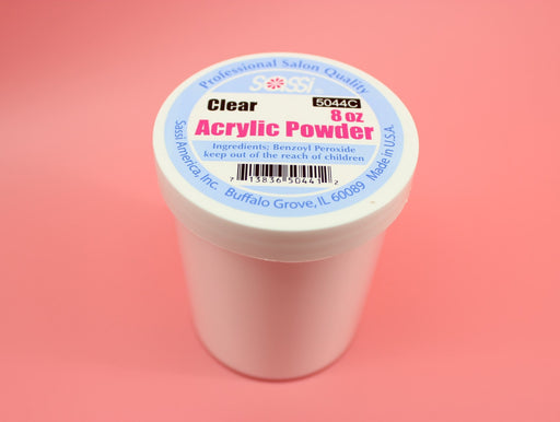 Sassi, Acrylic Powder, 8 oz Clear