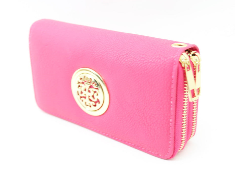 Double Zipper Women's Wallet