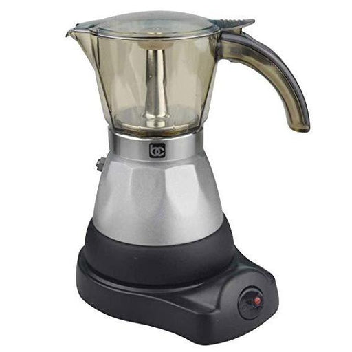 BC Classics, 1-3 Cup Electric Espresso Coffee Maker