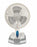 Rechargeable Desk/Wall Fan with LED work Lamp & Powerbank