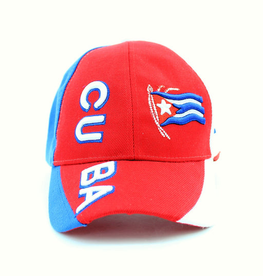 Cuban Flag Baseball Cap