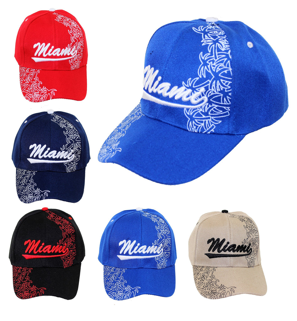 Miami Palms - Baseball Cap, Assorted Colors