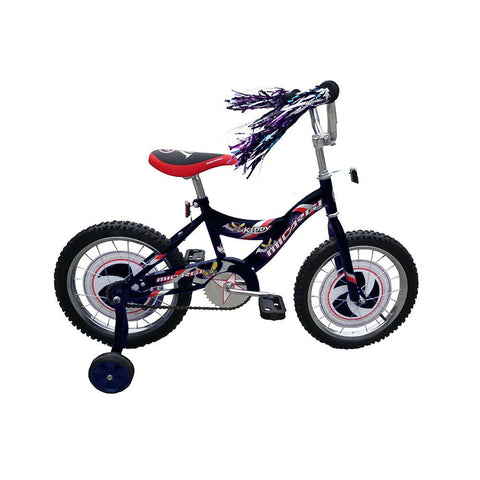 Micargi Kid's Cruiser Bike, Black, 16-Inch