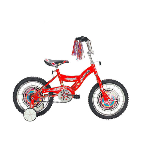 Micargi Kid's Cruiser Bike, Red, 16-Inch