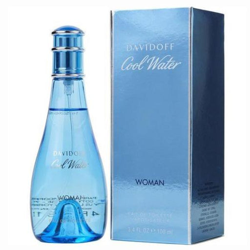 Cool Water by Davidoff 3.4 OZ ETD Women's Fragrance