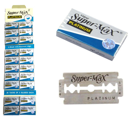 Super-Max Platinum, Cuchillas de Doble filo