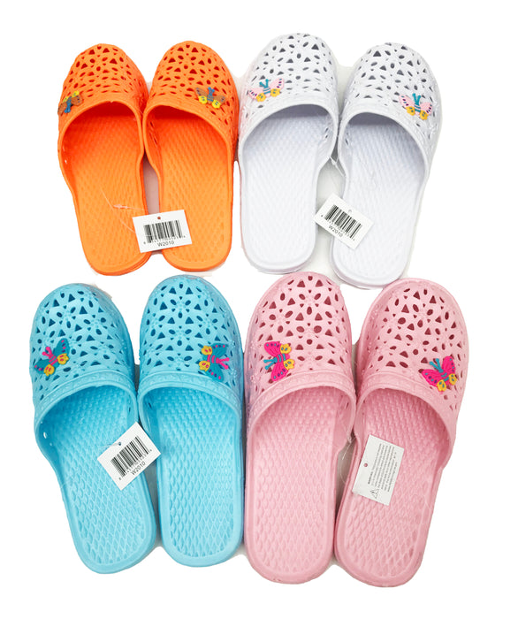 Women's Rubber Slide On Slippers