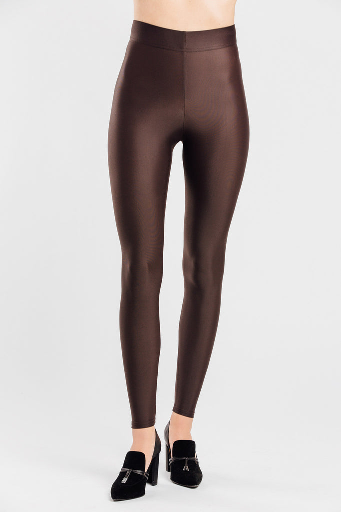 VALENXE Slimming Legging with CONCĒLĀRE™ Evening Wear in Brown