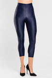 Slimming Crop Legging with CONCĒLĀRE™ Evening Wear in Blue