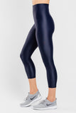Slimming Crop Legging with CONCĒLĀRE™ Sport Wear in Blue