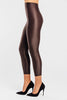 VALENXE Slimming Crop Legging with CONCĒLĀRE™ Evening Wear in Brown