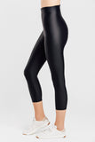 VALENXE Slimming Crop Legging with CONCĒLĀRE™ Casual Wear in Black