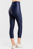 Slimming Crop Legging with CONCĒLĀRE™ Yoga Wear in Blue