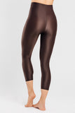 VALENXE Slimming Crop Legging with CONCĒLĀRE™ Sport Wear in Brown
