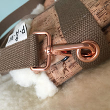 Load image into Gallery viewer, Dog Travel Bed Rose Gold
